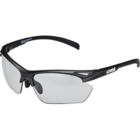 UVEX Sportstyle 802 V Sportglasses Small Women, black mat/smoke